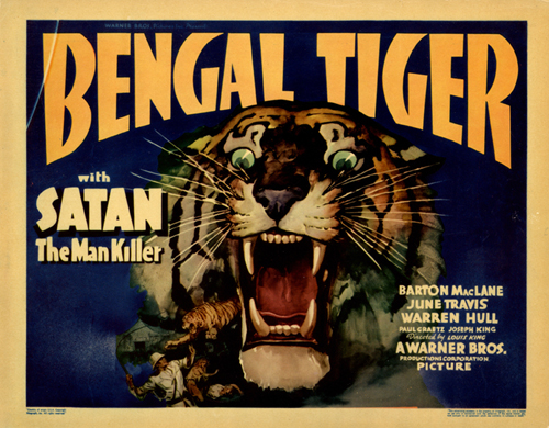 Jane Wyman in Bengal Tiger 1936