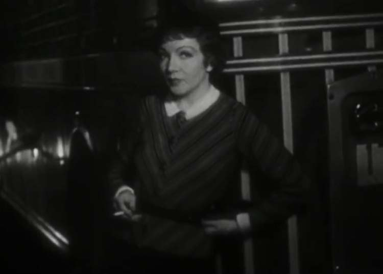 Claudette Colbert in It Happened One Night 1935