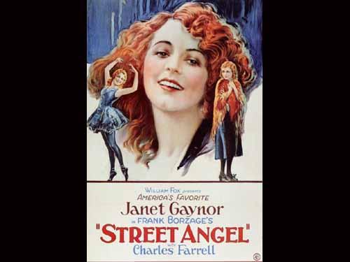 Janet Gaynor in Street Angel 1928
