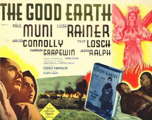 Luise Rainer in The Good Earth 1938