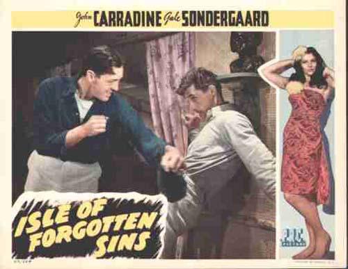 Gale Sondergaard in Isle of Forgotten Sins 1943
