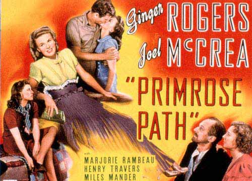 Ginger Rogers in Primrose Path 1940