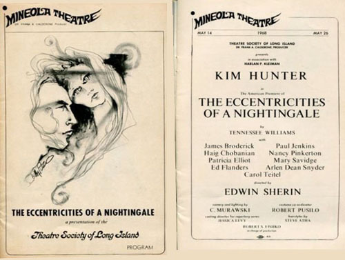 Kim Hunter in The Eccentricities of a Nightingale 1968