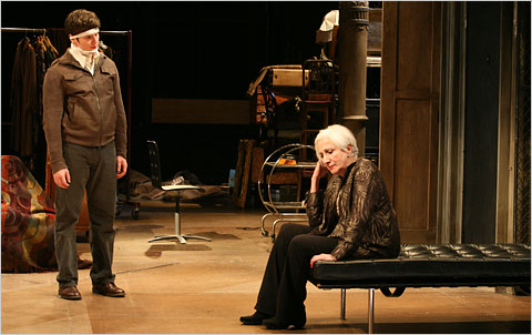 Jonathan Groff and Olympia Dukakis in The Singing Forest 2009