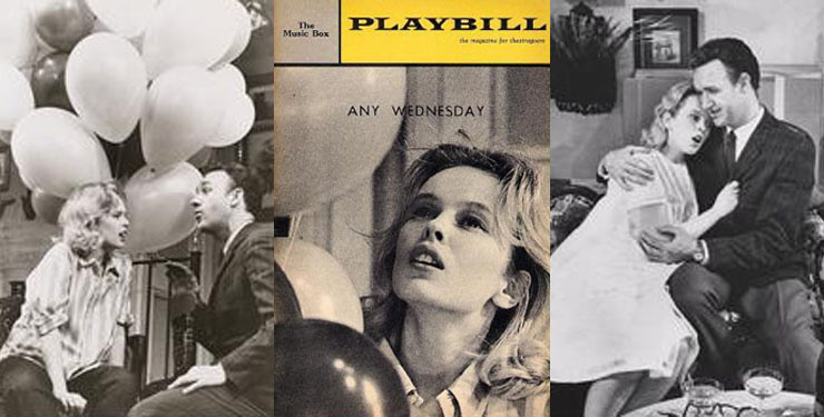 Sandy Dennis in Any Wednesday 1964