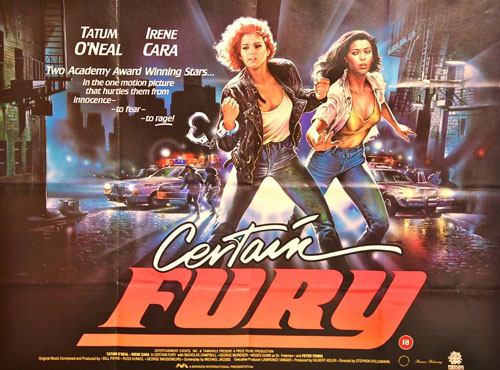 Tatum O'Neal in Certain Fury 1985