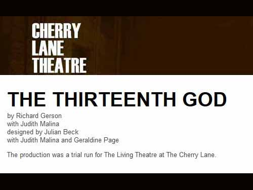The Thirteenth God (1951)