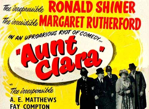 Margaret Rutherford in Aunt Clara 1954