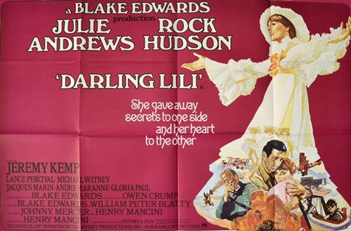 Julie Andrews in Darling Lili 1970