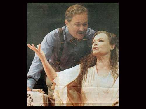 Judi Dench With Michael Pennington In Filumena 1998