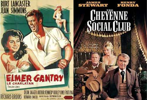 Shirley Jones Elmer Gantry 1961 and The Cheyenne Social Club 1970