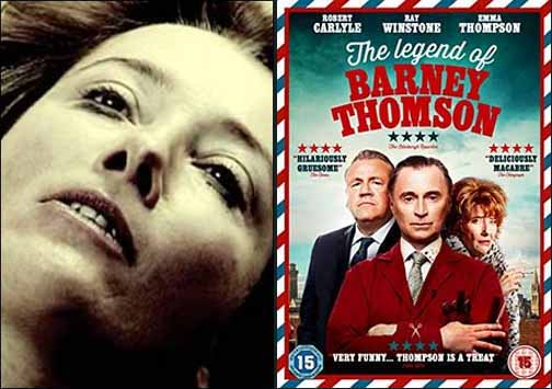 Emma Thompson in Trafficking is Torture 2010 and Barney Thomson 2015