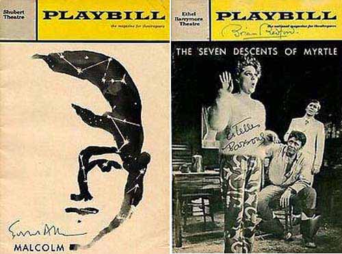 Estelle Parsons in Malcolm 1966 and The Seven Descents of Myrtle 1968