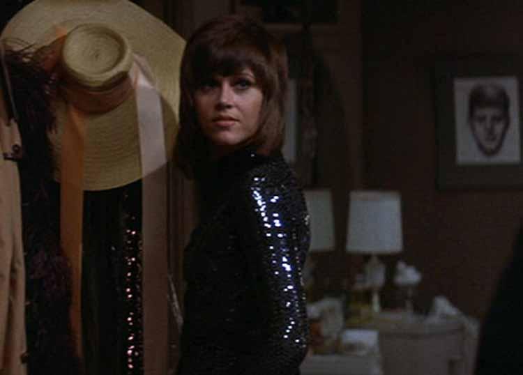 Jane Fonda in Klute 1972
