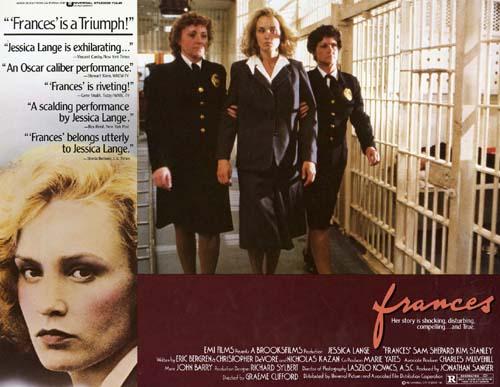 Jessica Lange in Frances 1982