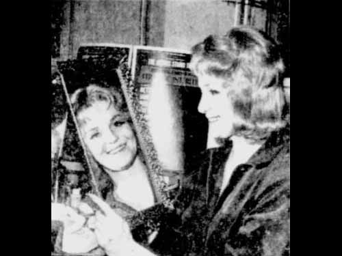 Geraldine Page In Her Dressing Room
