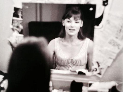 Glenda Jackson Backstage In Her Dressing Room 1964
