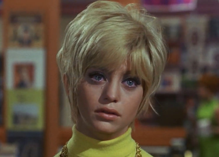 Goldie Hawn Cactus Flower 1970