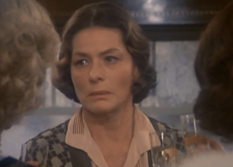 Ingrid Bergman Murder on the Orient Express 1975
