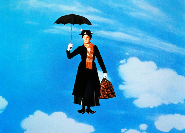 Julie Andrews Mary Poppins 1965