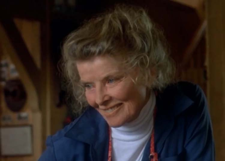 Katharine Hepburn On Golden Pond 1982