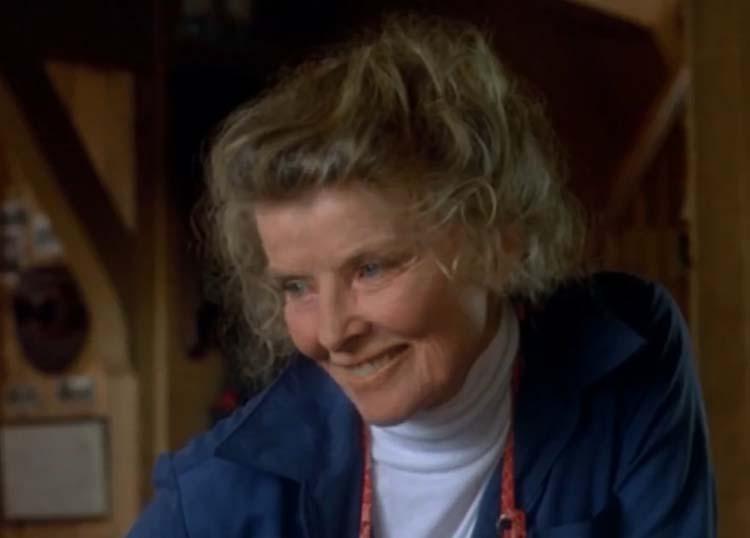 Katharine Hepburn On Golden Pond 1982