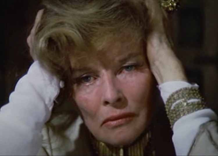 Katharine Hepburn in The Lion in Winter 1969