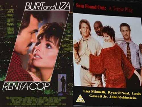 Liza Minelli in Rent-A-Cop 1987 & Sam Found Out 1988