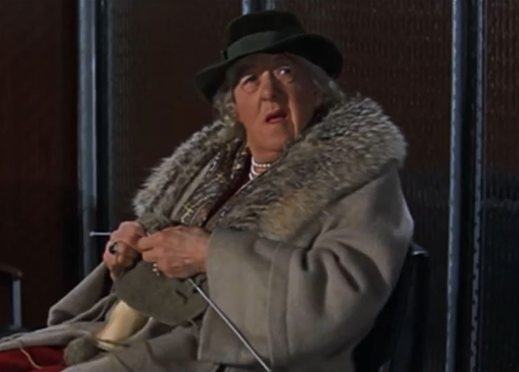 Margaret Rutherford The V.I.P.s 1964