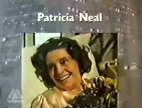 """Screenshot Of Patricia Neal In The Opening Credits Of The Pilot To """"Glitter"""""""