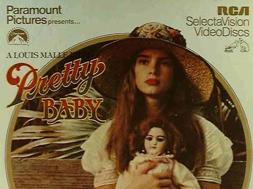 Susan Sarandon in Pretty Baby 1978