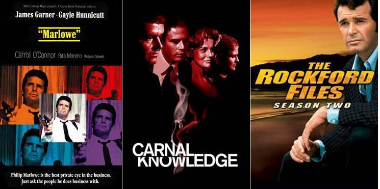 Rita Moreno in Marlowe 1969, Carnal Knowledge 1971 and The Rockford Files 1978 - 1979