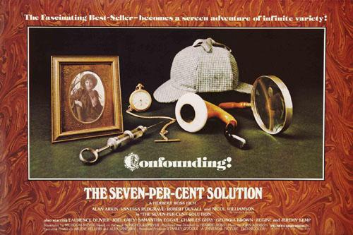 Vanessa Redgrave in The Seven-Per-Cent Solution 1976
