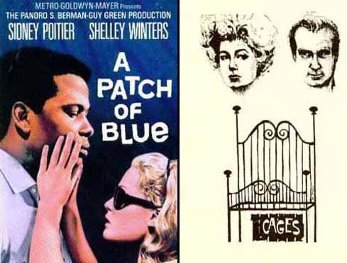 Shelley Winters in A Patch of Blue 1966 and Cages 1963 & 1985