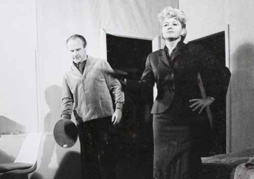 Shelley Winters and Jack Warden in Cages 1963