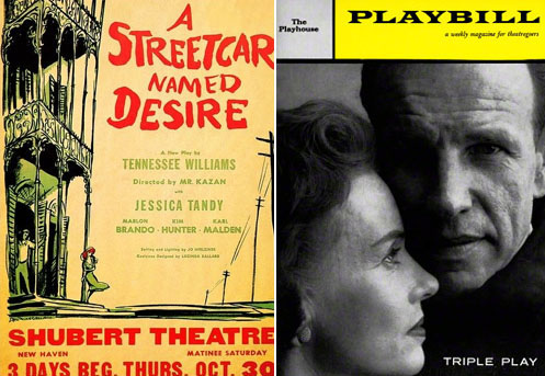 Jessica Tandy in Streetcar Named Desire 1947 and Bedtime Story