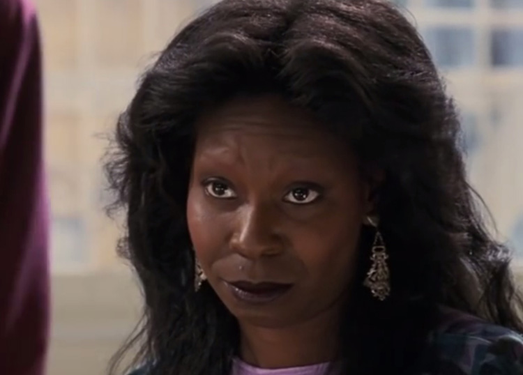 Whoopi Goldberg Ghost 1991