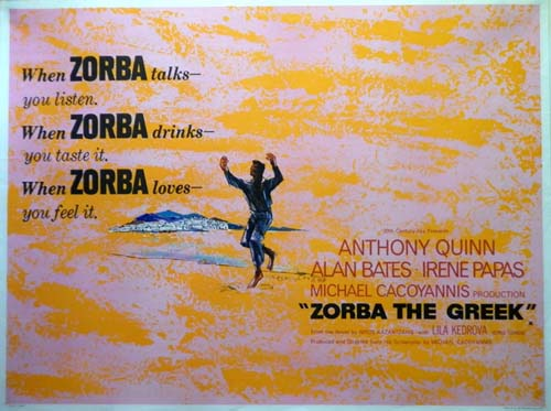 Lila Kedrova in Zorba the Greek 1965