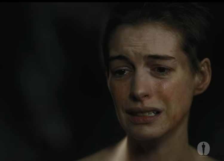 Anne Hathaway Les Misérables 2013