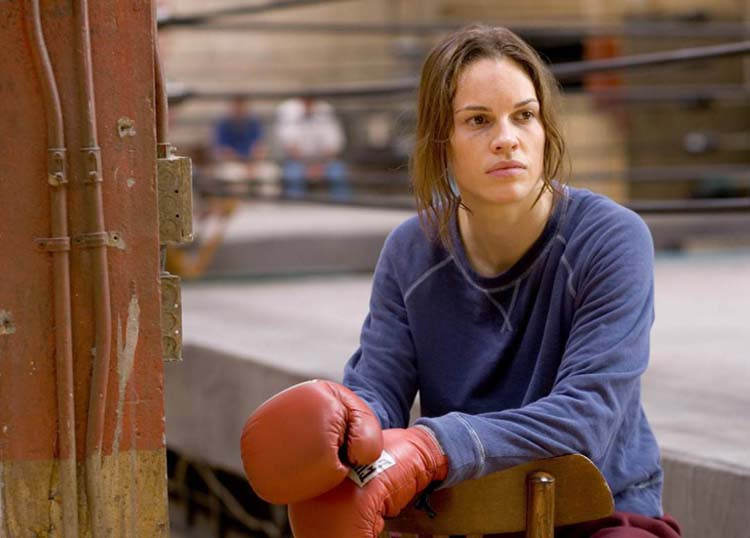 Hilary Swank Million Dollar Baby 2005