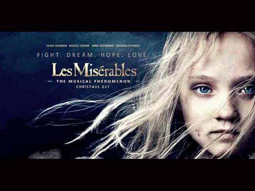 Anne Hathaway in Les Les Misérables 2013