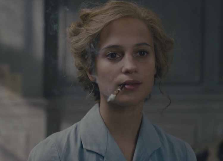 Alicia Vikander in The Danish Girl 2016