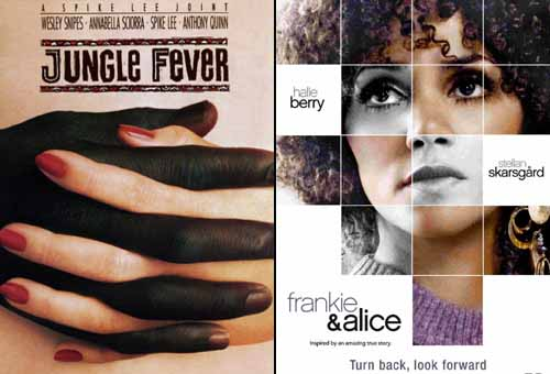 Halle Berry in Jungle Fever 1991 and Frankie & Alice 2010