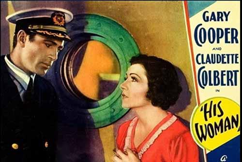 Claudette Colbert in His Woman 1931