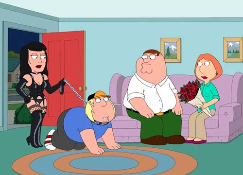 Allison Janney in in Family Guy 2015