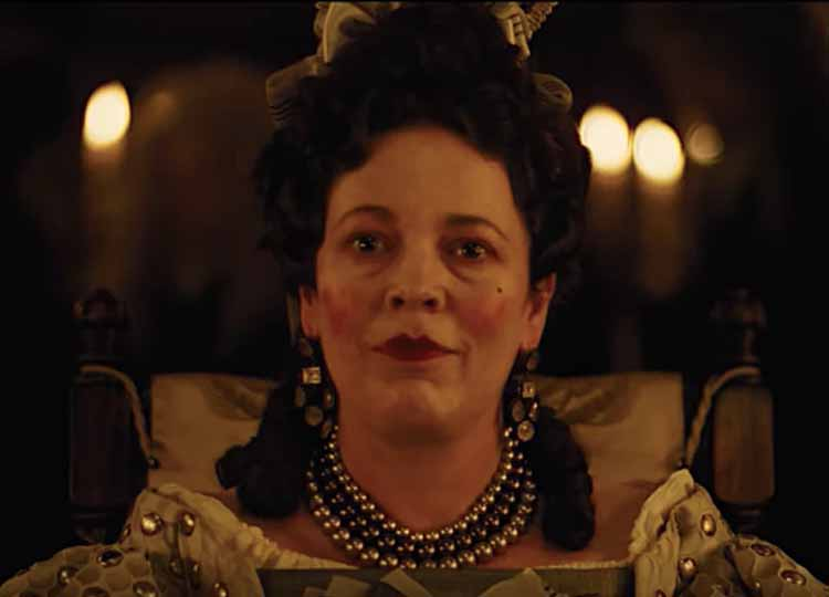 olivia colman the favorite