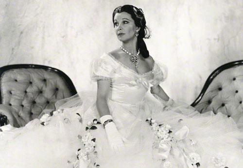 Vivien Leigh in La Dame aux Camélias 1961
