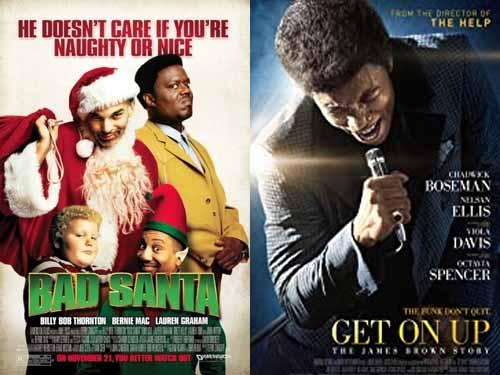 Octavia Spencer in Bad Santa 2003 & Get On Up 2014