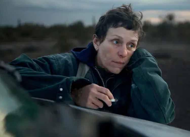 Frances McDormand Nomadland 2021
